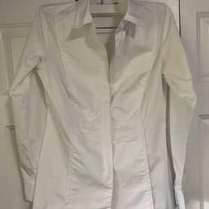 White Cabi button up top!